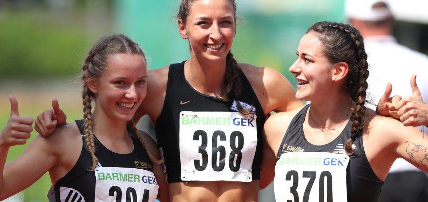 3×800-Meter-Staffel der LG Stadtwerke München läuft mit Rekord zum Titel