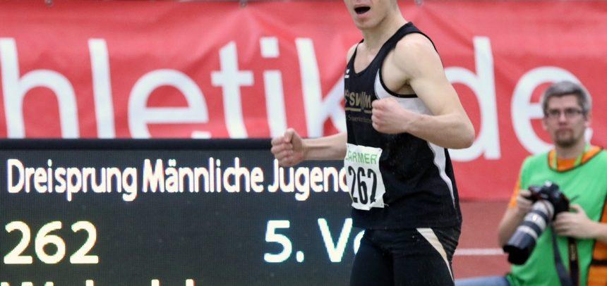 Dreisprung-Titel für Walschburger – Medaillen für Dantzler & 3x800m-Staffel