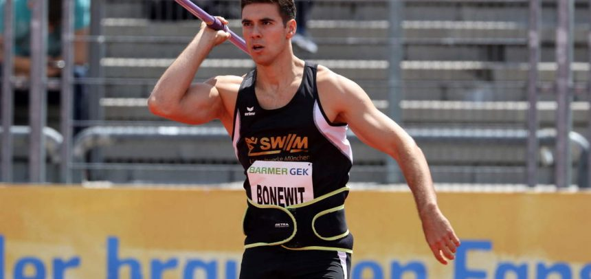 78,13 Meter – Bonewit mit neuer Bestleistung bei Winterwurf-Europacup