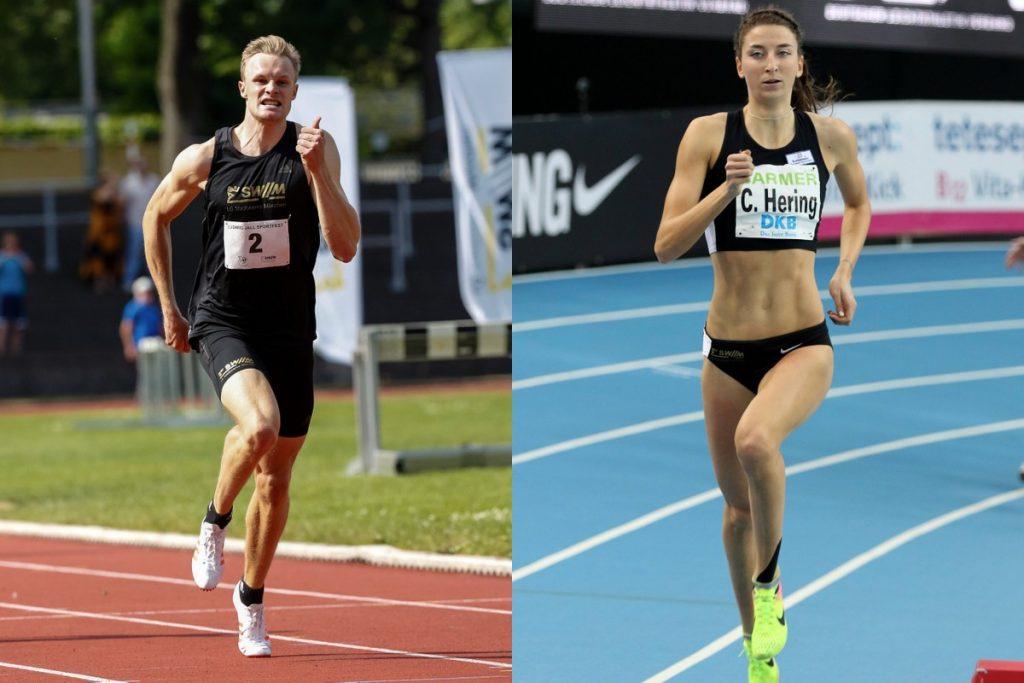 Christina Hering und Johannes Trefz von der LG Stadtwerke München fahren zur Team-EM nach Lille