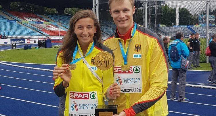Hering und Trefz sind Team-Europameister