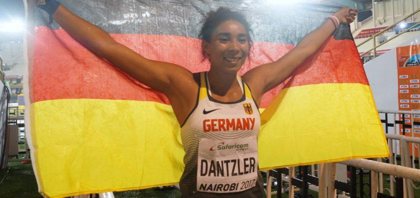 Selina Dantzler ist Weltmeisterin im Kugelstoßen