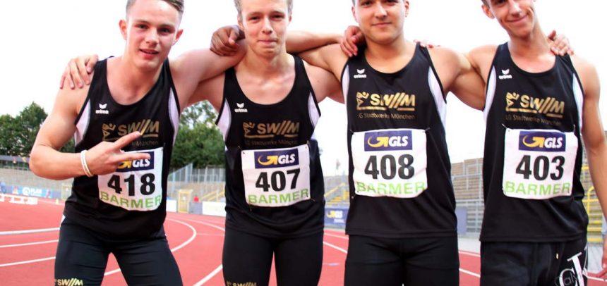 Fünf Titel und zweimal Bronze für LG-Stadtwerke-Nachwuchs bei Deutscher Meisterschaft