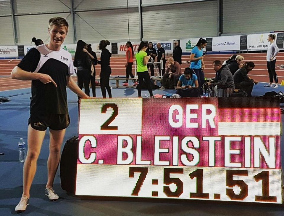 Clemens Bleistein von der LG Stadtwerke München