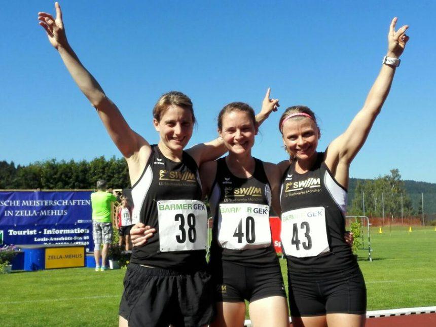 Drei Titel bei Deutschen Langstaffelmeisterschaften der Seniorinnen und Senioren