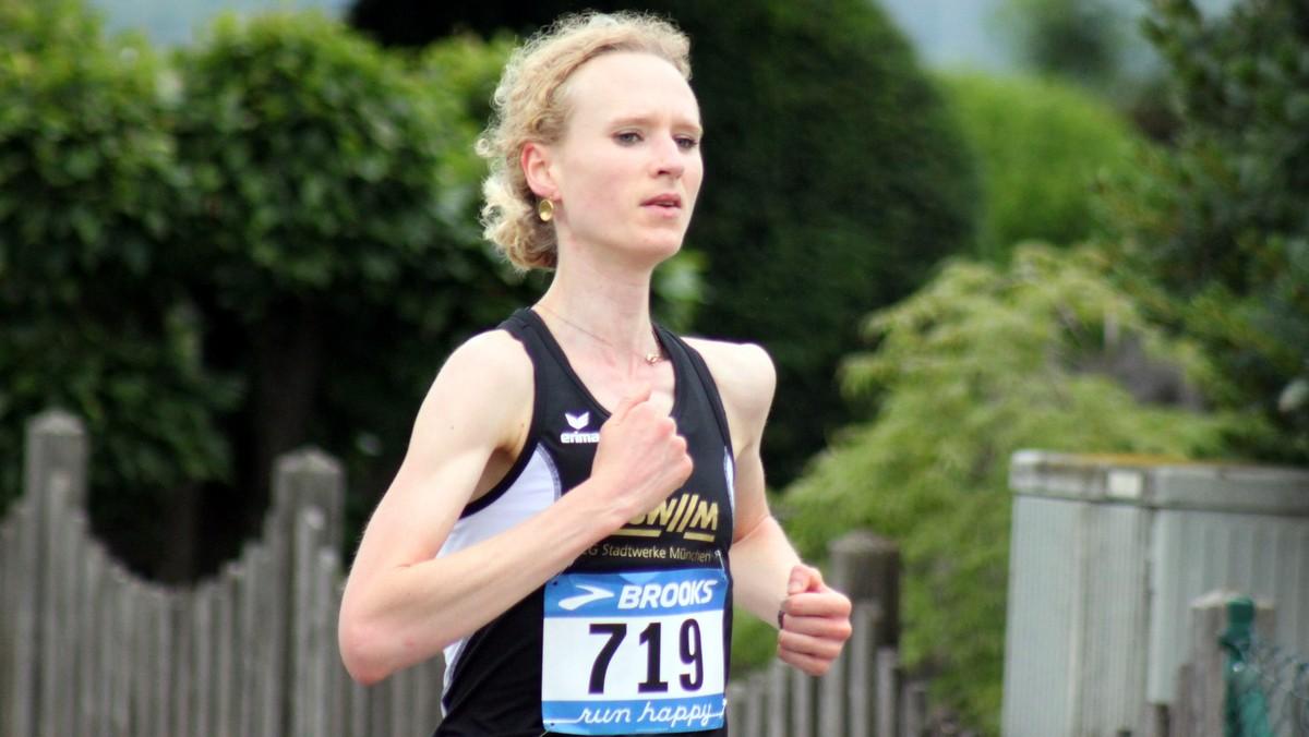 Langstreckenläuferin Claire Perrin von der LG Stadtwerke München