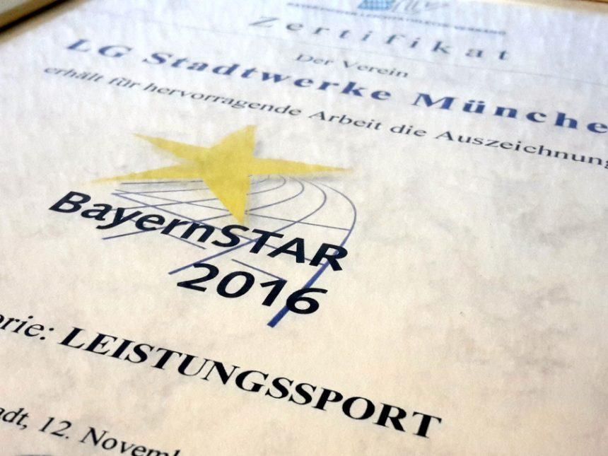 LG Stadtwerke München mit BayernSTAR ausgezeichnet