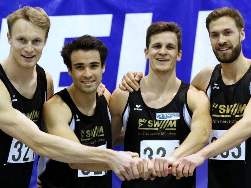 Erfolgreiches Abschneiden bei Bayerischer Hallenmeisterschaft