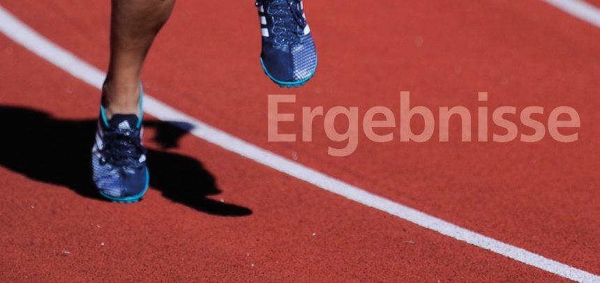 Wettkampfergebnisse der LG Stadtwerke München vom 3. Oktober