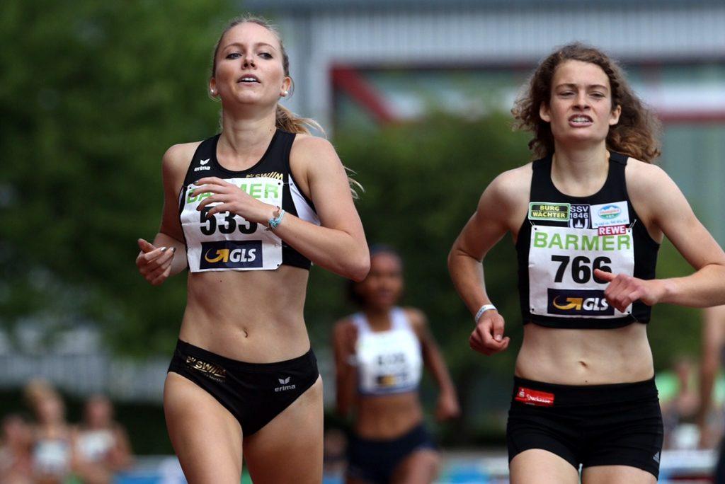 Katharina Trost von der LG Stadtwerke München gewinnt Gold bei der U23-DM