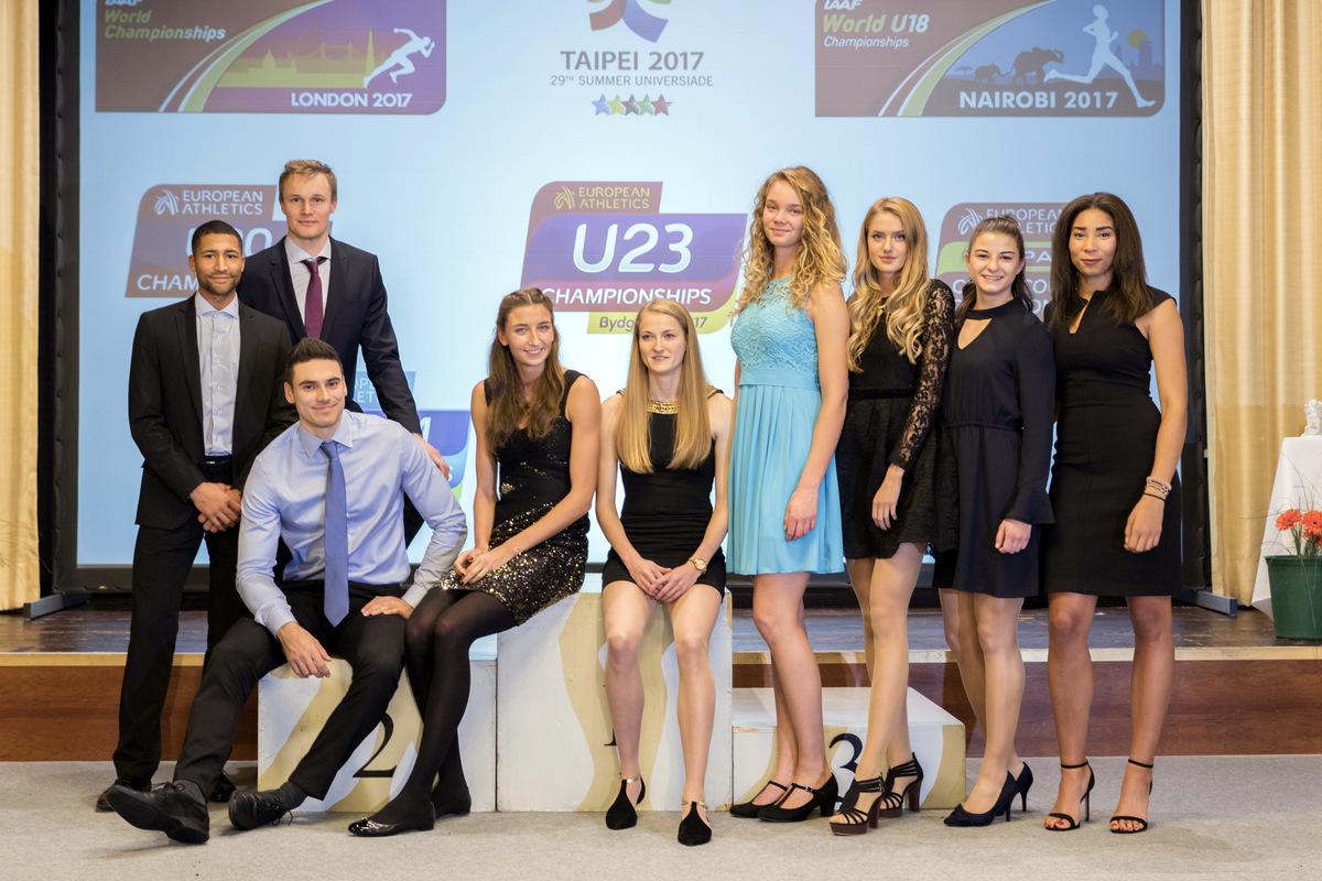 International erfolgreiche Leichtathleten der LG Stadtwerke München