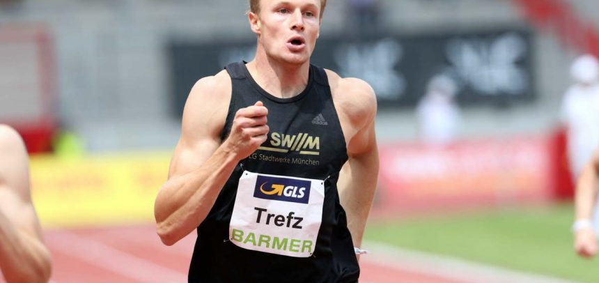 Männer-Bestenliste: 400-Meter-Ass Trefz ist Jahresbester