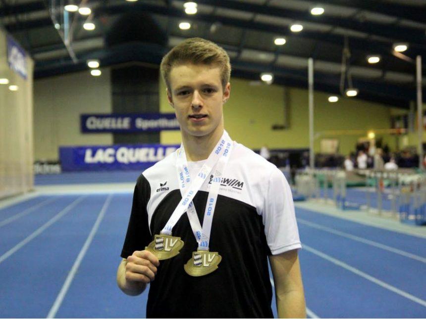 Acht Mal Gold für U20- und U16-Aktive bei Bayerischer Hallenmeisterschaft