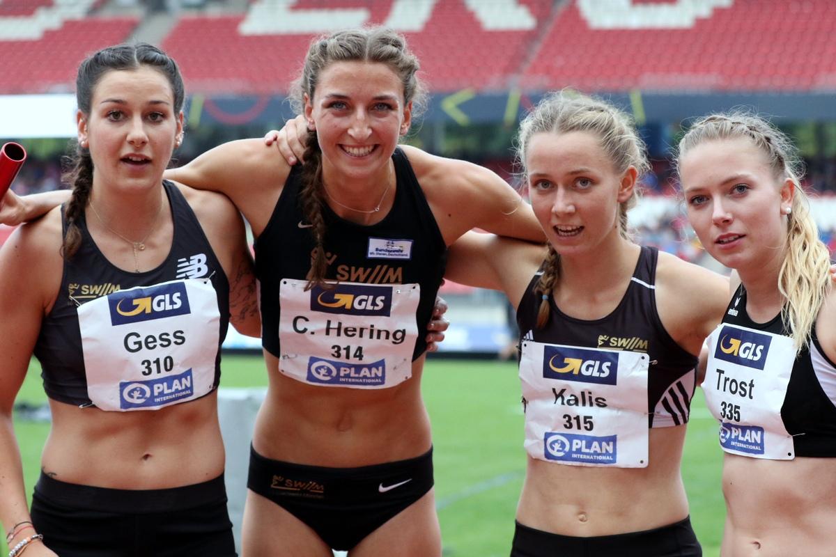 4x400m Staffel Frauen