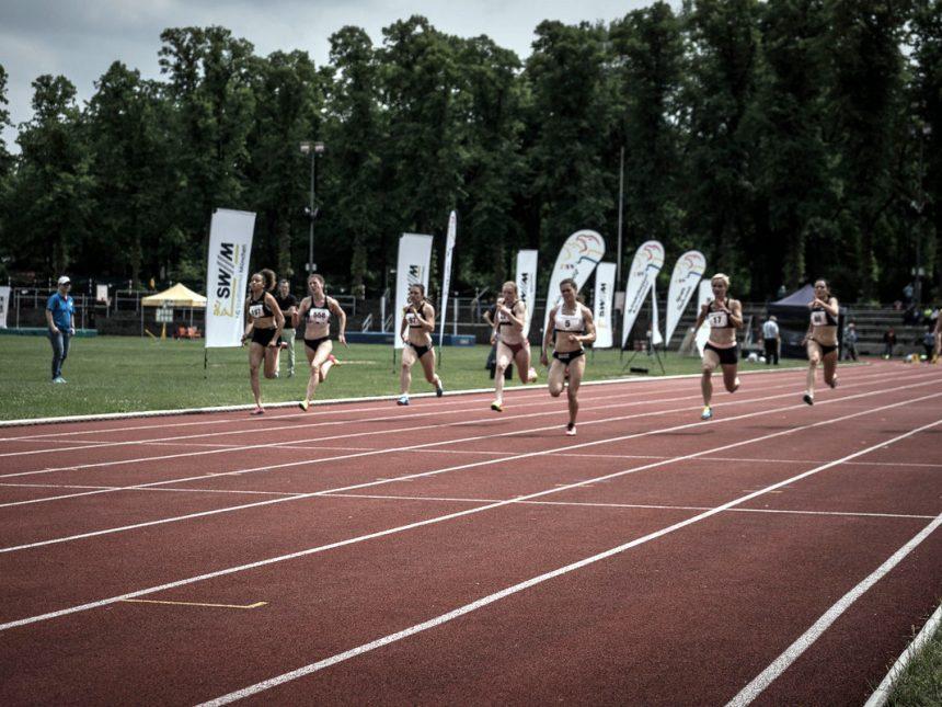 Schnelle Sprintzeiten beim Leichtathletikabend im Münchner Dantestadion