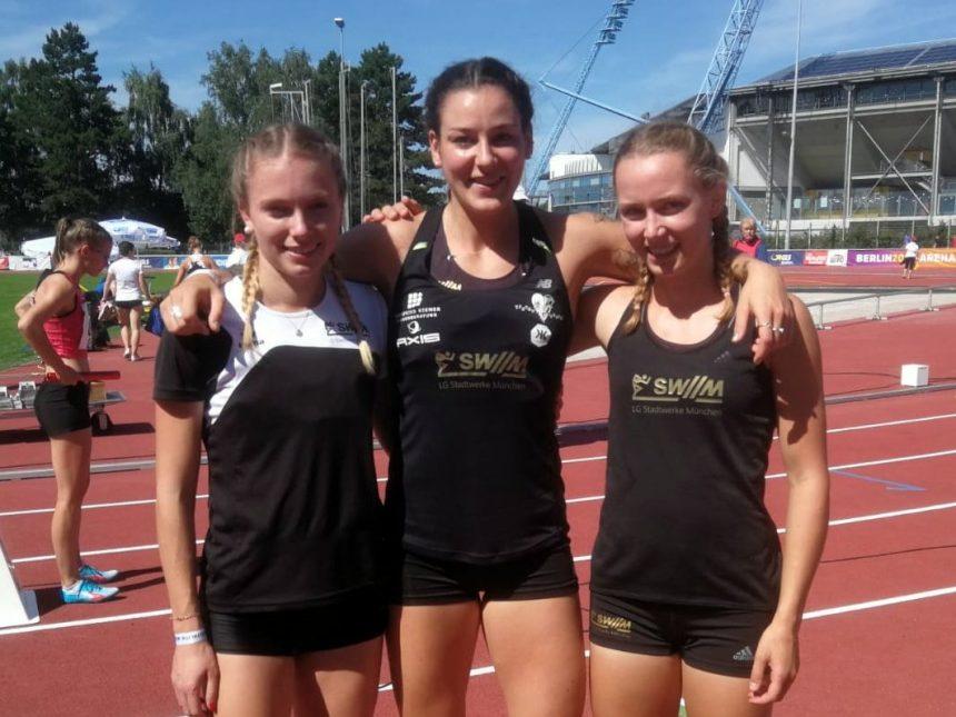 Gess, Kalis und Trost gewinnen Deutsche Meisterschaft über 3×800-Meter