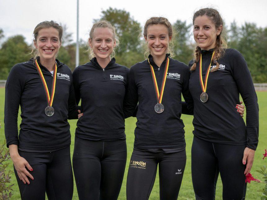 Frauenteam gewinnt Silber bei Mehrkampf-DM