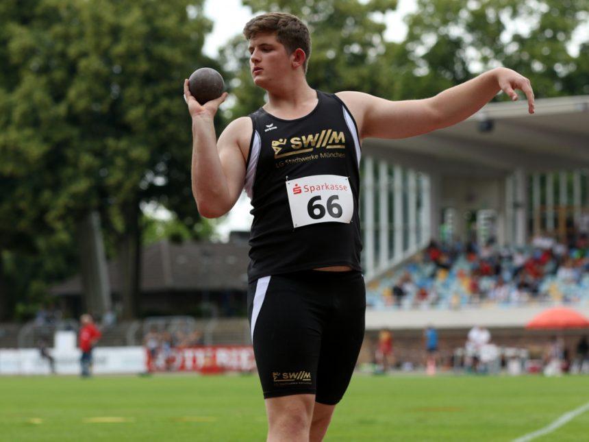 Ein Dutzend Münchner bei Deutschen U16-Meisterschaften in Wattenscheid