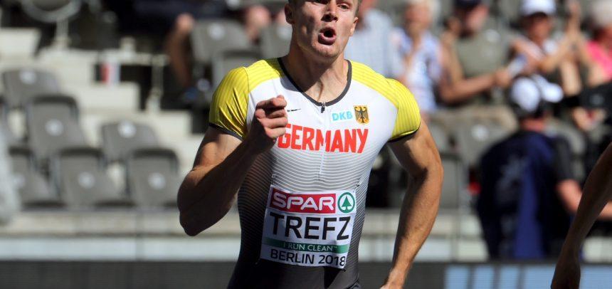 Trefz mit 4×400-Meter-Staffel im EM-Finale