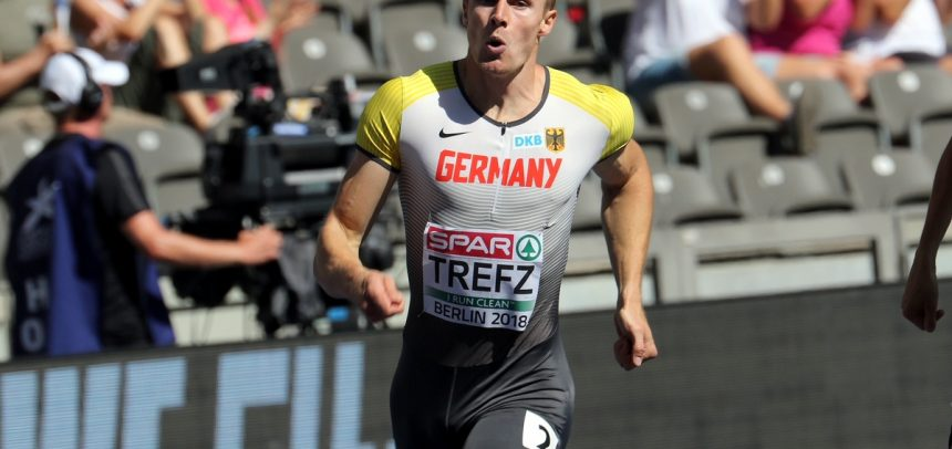 Finalrang acht für deutsche 4×400-Meter-Staffel mit Trefz