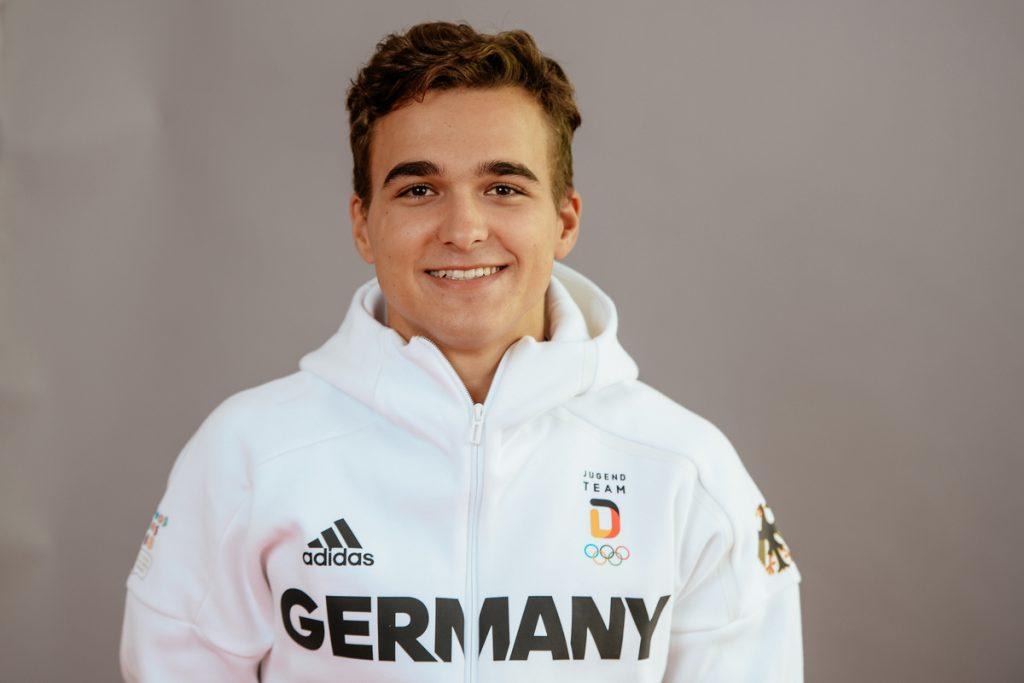 Fabian Olbert von der LG Stadtwerke München