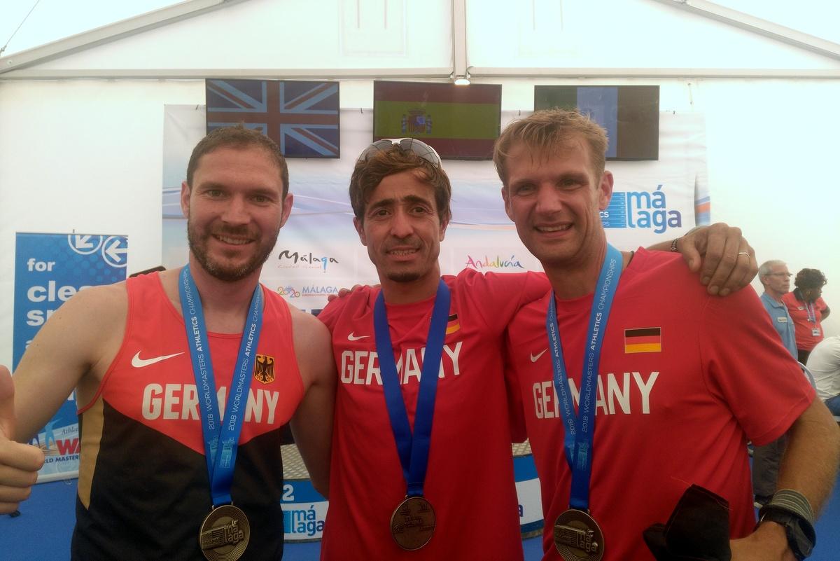 Andreas Brünnert von der LG Stadtwerke München gewinnt WM-Silber in der Halbmarathon Mannschaft
