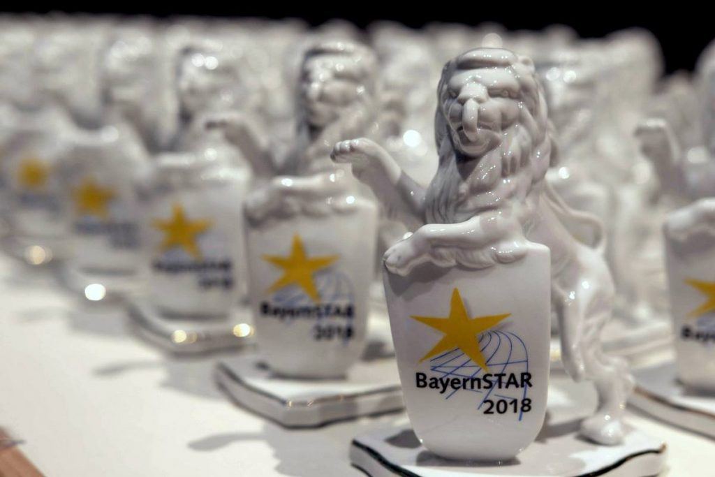 LG Stadtwerke München beimn BayernSTAR 2018