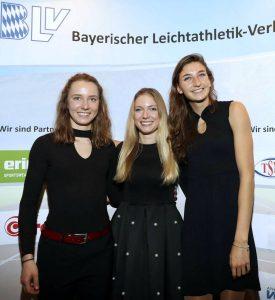 Mittelstrecklerinnen der LG Stadtwerke München