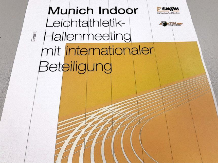 Neuer Teilnehmerrekord beim Munich Indoor am 2. Februar