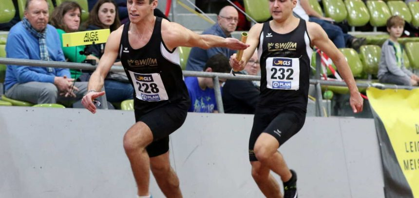 Fulminantes Staffel-Gold und zwei Silbermedaillen für LG SWM bei Jugend-Hallen-DM