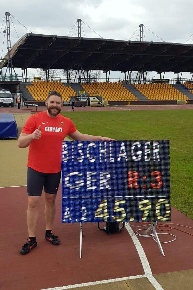 Christoph Bischlager von der LG Stadtwerke München
