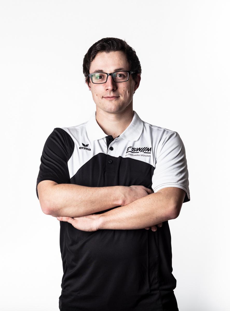 Sprinttrainer Michael Ehrenreich von der LG Stadtwerke München