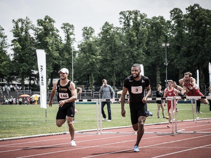 Spannende Sprints und stark besetzte Kugelstoß-Wettbewerbe beim Ludwig-Jall