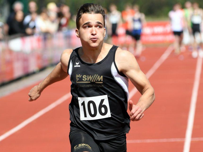 Olbert ist 2020 der deutschlandweit schnellste Sprinter seines Alters