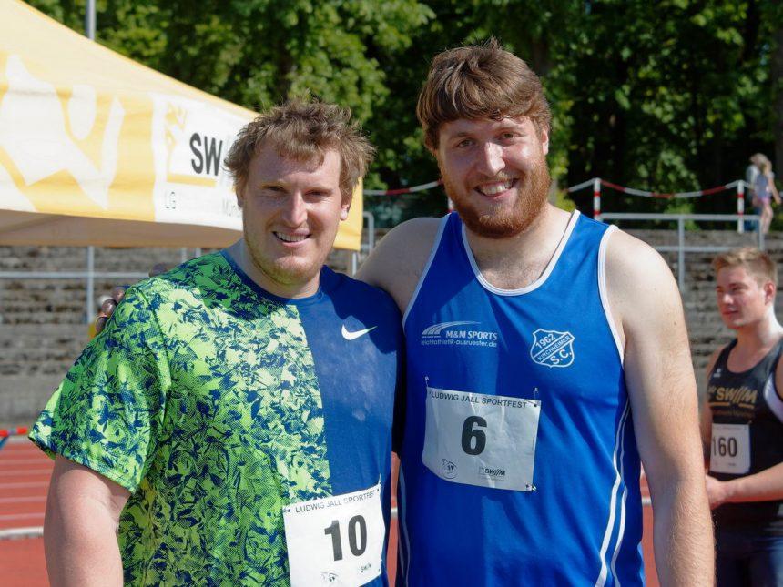 Starke Kugelstoß- und Sprintwettbewerbe ragen beim 34. Ludwig-Jall-Sportfest heraus