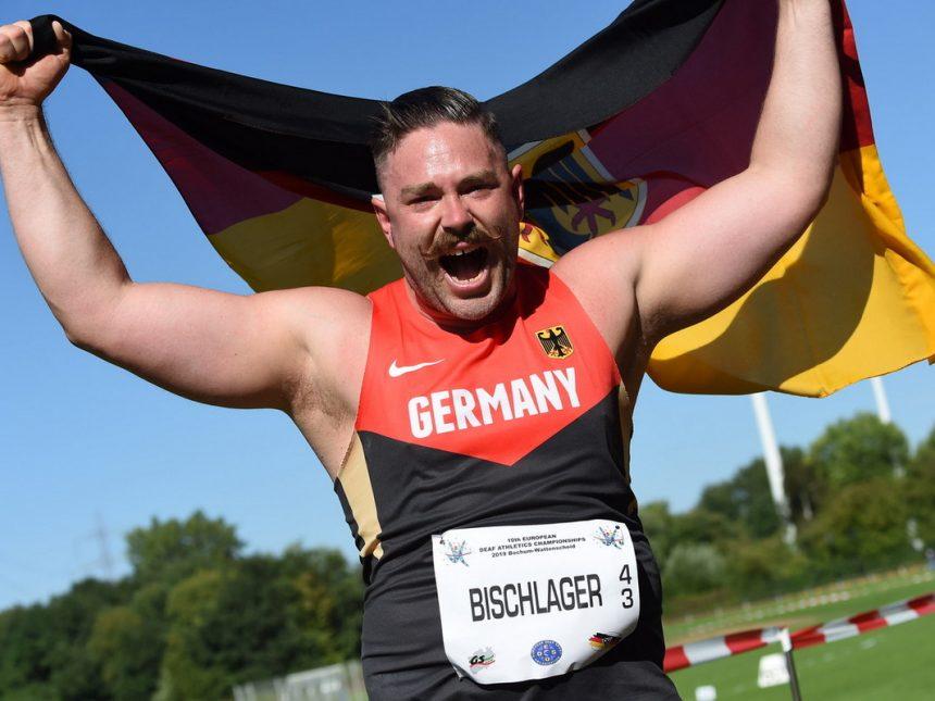 Diskus-Bronze für Bischlager bei Gehörlosen-Heim-EM