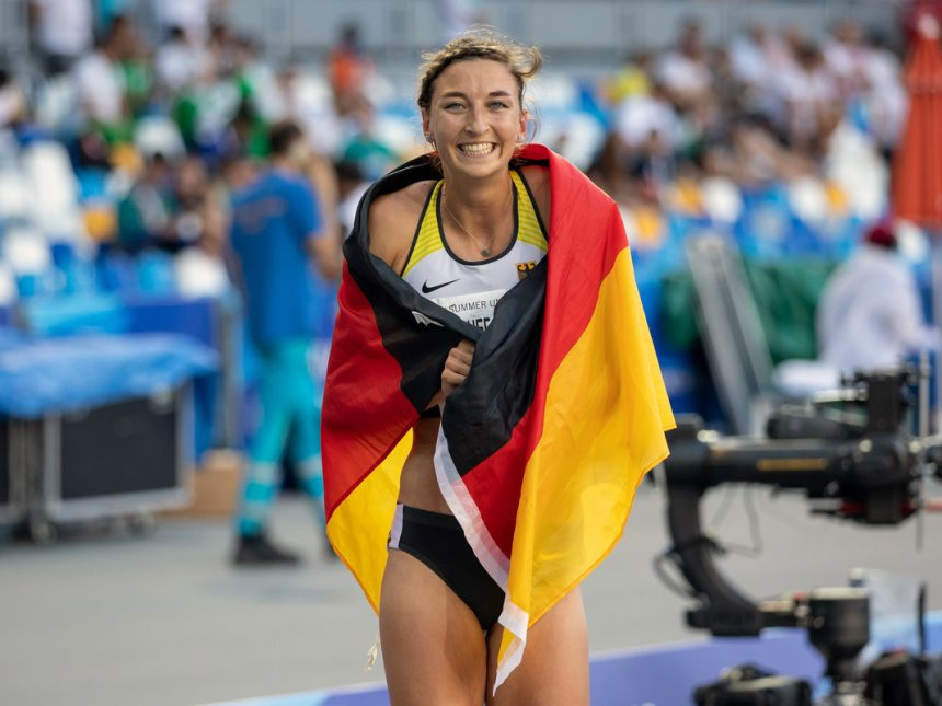 Universiade-Silber für Hering nach starkem 800-Meter-Rennen