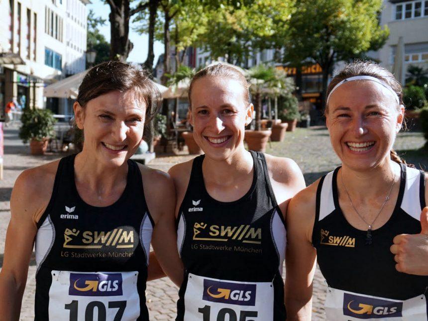 Platz sieben für Frauen-Team der LG SWM bei 10-Kilometer-DM
