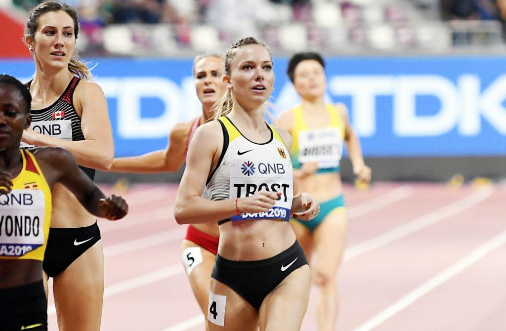Katharina Trost von der LG Stadtwerke München