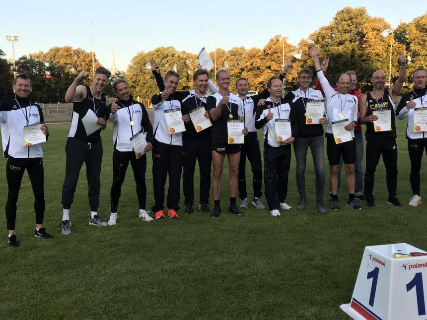 Gold und Bronze für LG-SWM-Männer bei Team-DM im Dantestadion