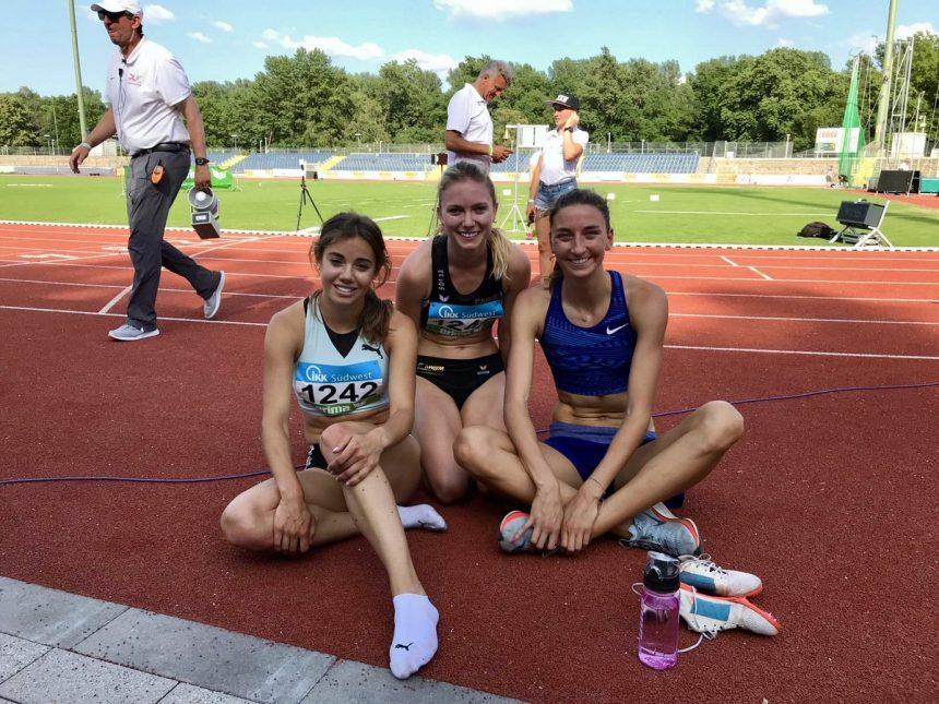 Italiener Mädchen im Stadion