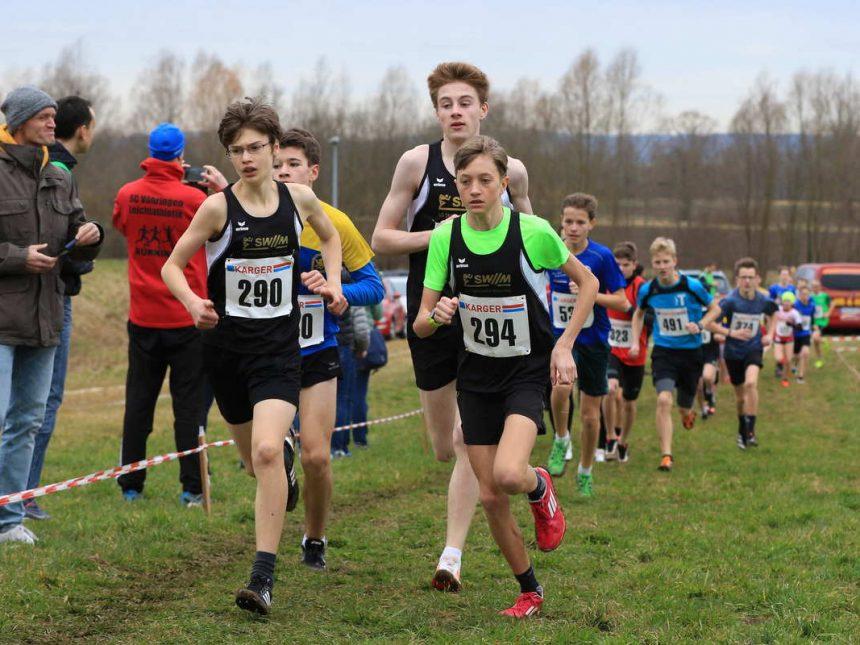 LG-SWM-Läufernachwuchs überzeugt mit Titelgewinnen bei Bayerischer Crosslaufmeisterschaft