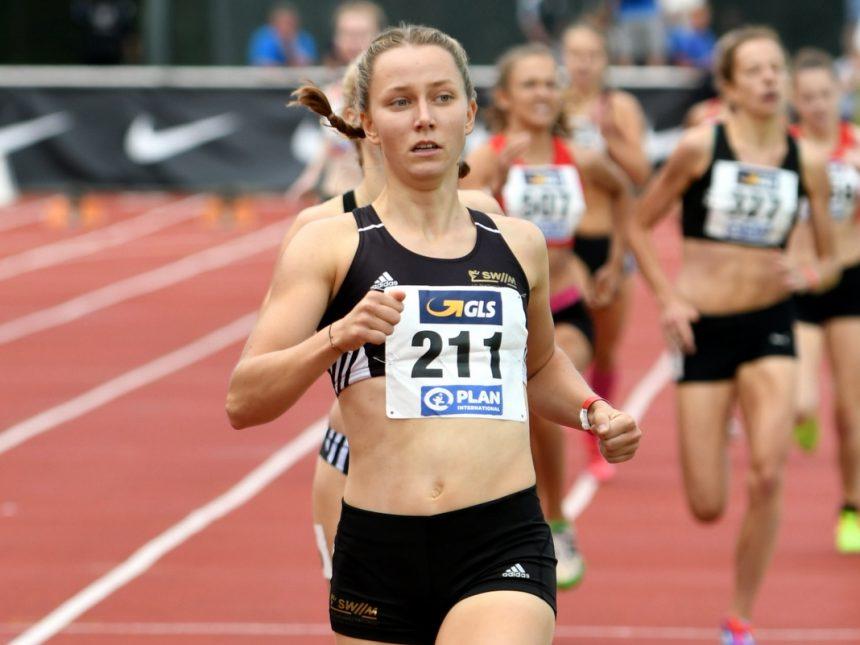 LG-SWM-Mittelstreckenläuferin Kalis zieht sich aus Wettkampfsport zurück