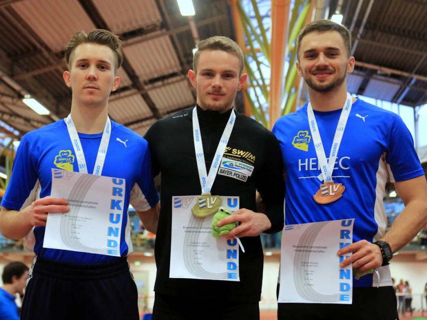 Zweifache Titelgewinne durch Blake und Wolf bei Bayerischer Hallenmeisterschaft