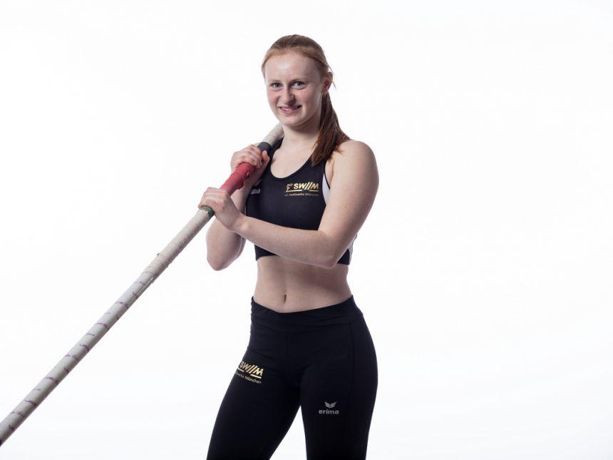 U18-Stabhochspringerin Lena Zintl überquert 4,12 Meter