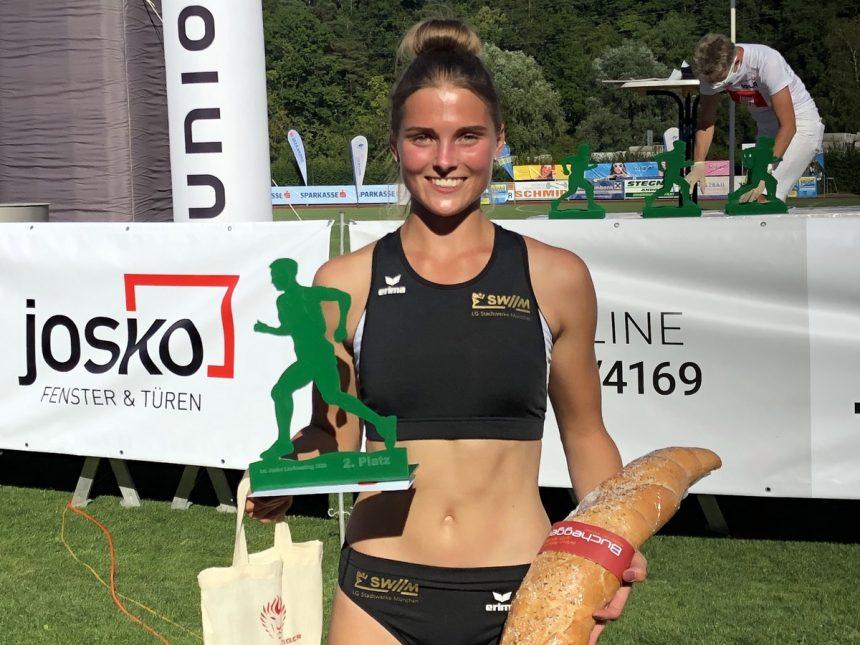 U20-Sprinterin Benzinger mit zwei neuen Bestleistungen in Andorf