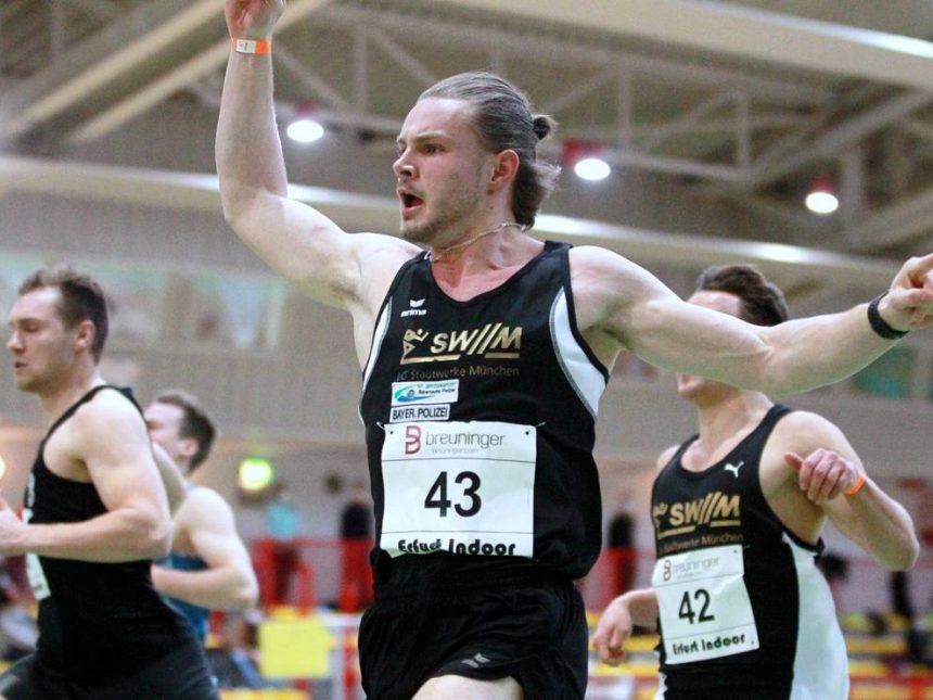 Schnelle Sprint- und Mittelstreckenrennen in Erfurt