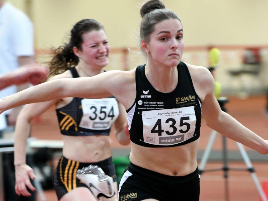 LG-SWM-Sprinterin Tina Benzinger toppt erneut ihre 60-Meter-Bestzeit