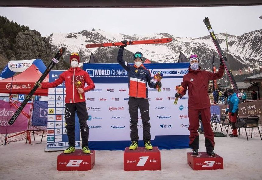Finn Hösch holt WM-Bronze im Skibergsteigen