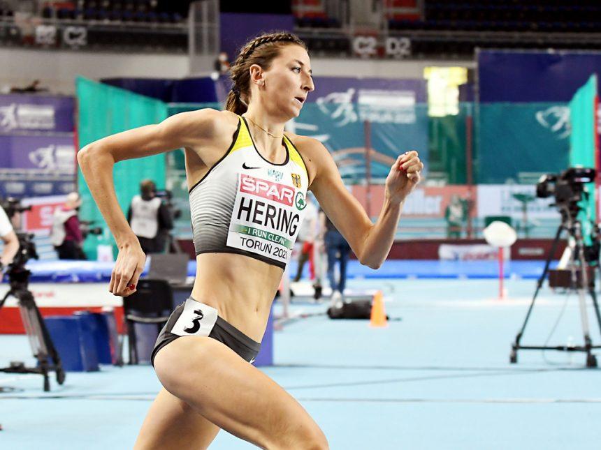 Hallen-EM Tag 3: Christina Hering verpasst das 800-Meter-Finale denkbar knapp